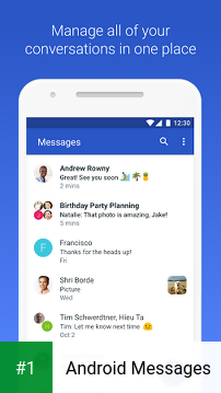 Android Messages app screenshot 1