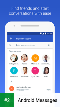 Android Messages apk screenshot 2