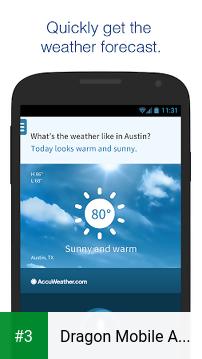 Dragon Mobile Assistant app screenshot 3