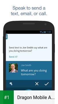 Dragon Mobile Assistant app screenshot 1
