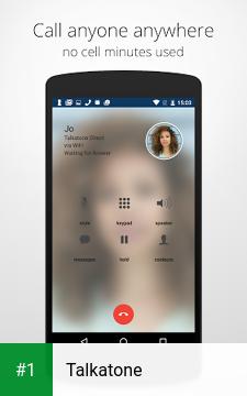 Talkatone app screenshot 1
