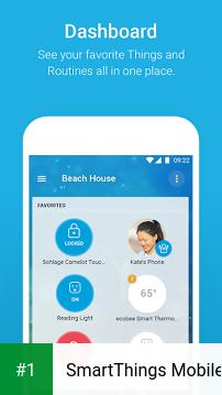SmartThings Mobile app screenshot 1