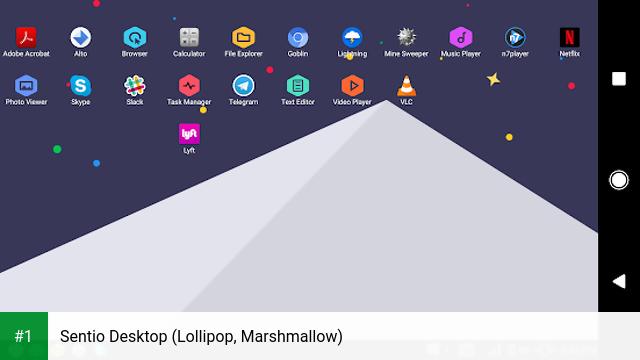 Sentio Desktop (Lollipop, Marshmallow) app screenshot 1