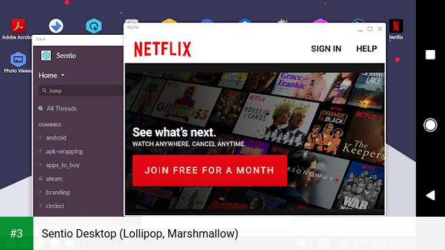 Sentio Desktop (Lollipop, Marshmallow) app screenshot 3
