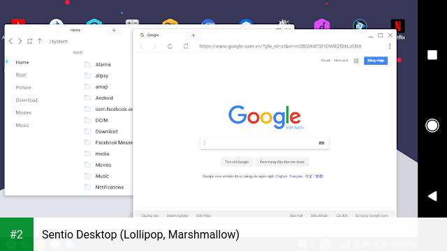 Sentio Desktop (Lollipop, Marshmallow) apk screenshot 2