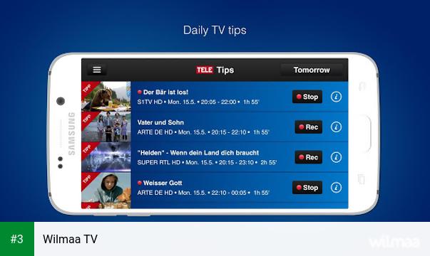 Wilmaa TV app screenshot 3