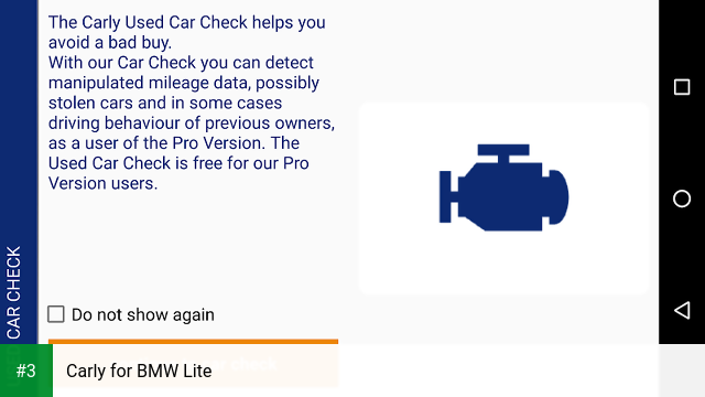 Carly for BMW Lite app screenshot 3