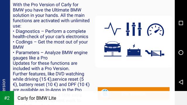 Carly for BMW Lite apk screenshot 2