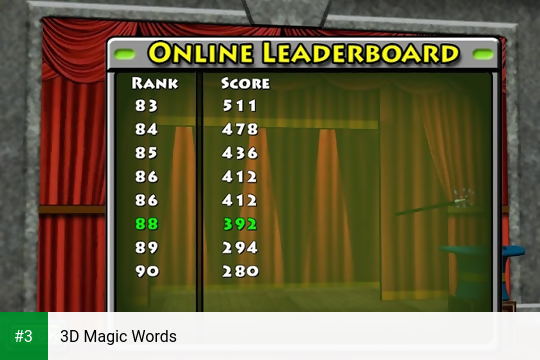 3D Magic Words app screenshot 3