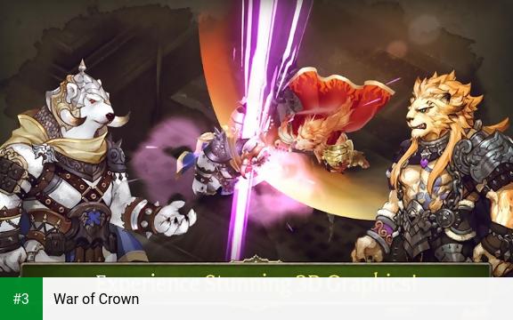 War of Crown app screenshot 3