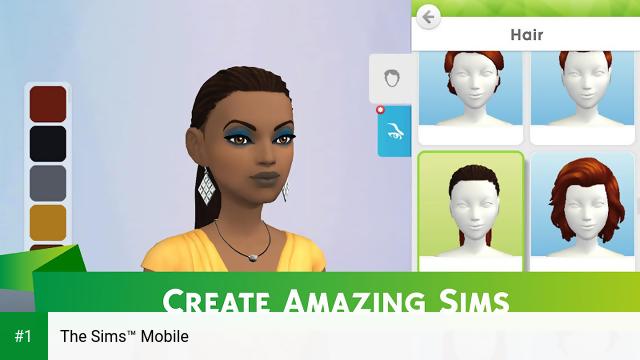 The Sims™ Mobile app screenshot 1
