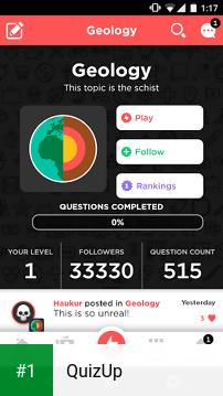 QuizUp app screenshot 1