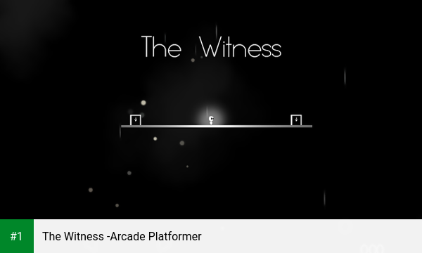 The Witness -Arcade Platformer app screenshot 1
