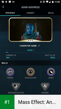 Mass Effect: Andromeda APEX HQ app screenshot 1