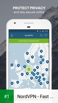 NordVPN - Fast & Secure VPN app screenshot 1