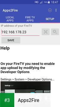 Apps2Fire app screenshot 3
