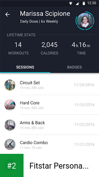 Fitstar Personal Trainer apk screenshot 2