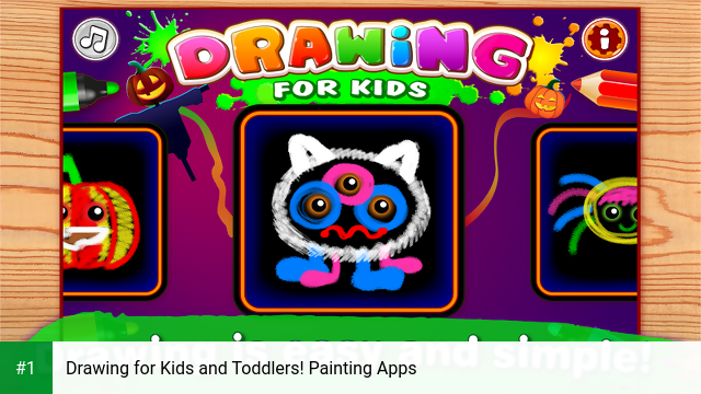 Drawing for Kids and Toddlers! Painting Apps app screenshot 1