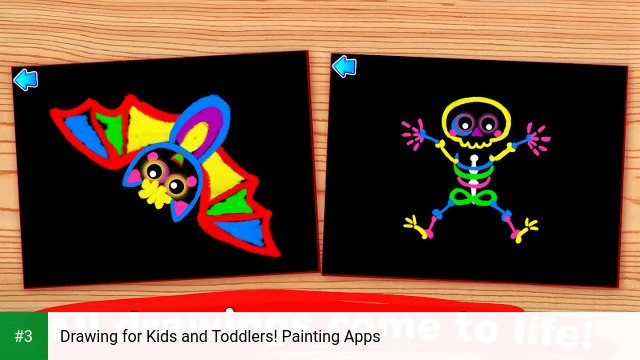 Drawing for Kids and Toddlers! Painting Apps app screenshot 3
