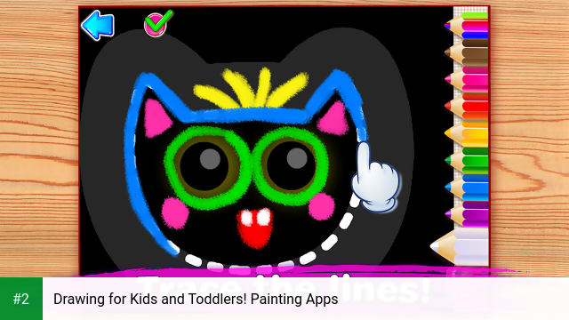 Drawing for Kids and Toddlers! Painting Apps apk screenshot 2