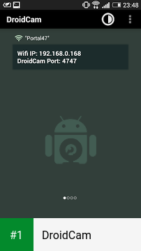 DroidCam app screenshot 1