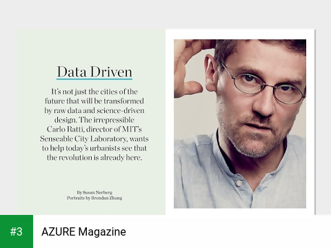 AZURE Magazine app screenshot 3