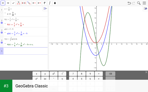 GeoGebra Classic APK latest version - free download for Android