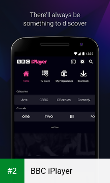 BBC iPlayer apk screenshot 2