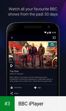 BBC iPlayer app screenshot 3