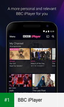 BBC iPlayer app screenshot 1