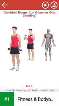 Fitness & Bodybuilding app screenshot 1