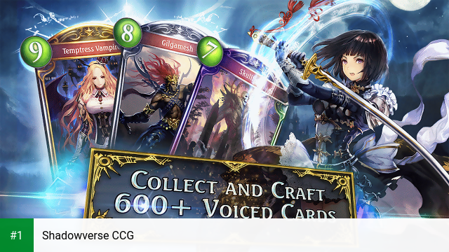 Shadowverse CCG app screenshot 1