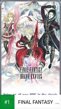 FINAL FANTASY  BRAVE EXVIUS app screenshot 1