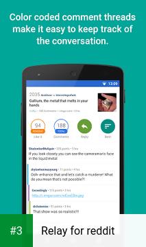 Relay for reddit app screenshot 3