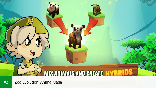 Zoo Evolution: Animal Saga apk screenshot 2
