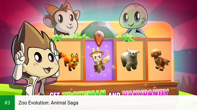 Zoo Evolution: Animal Saga app screenshot 3