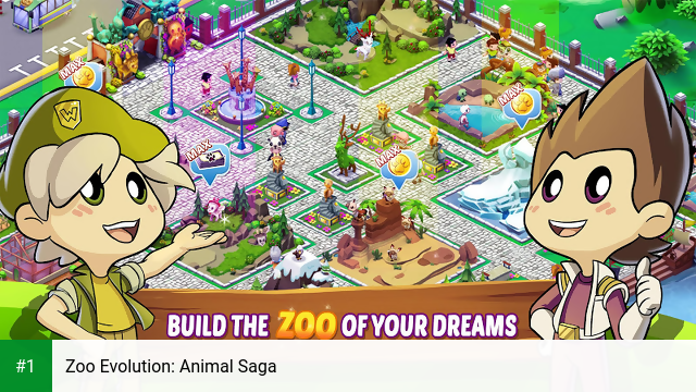 Zoo Evolution: Animal Saga app screenshot 1
