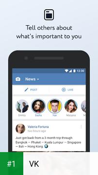 VK app screenshot 1