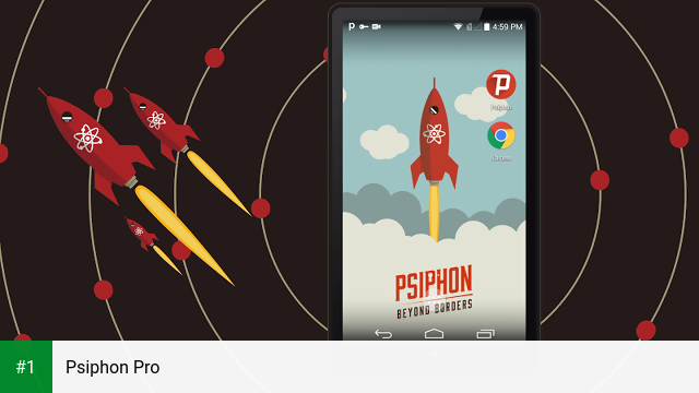Psiphon Pro app screenshot 1