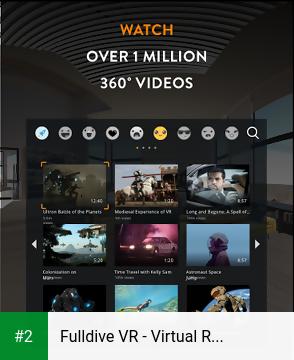 Fulldive VR - Virtual Reality apk screenshot 2