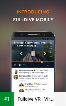 Fulldive VR - Virtual Reality app screenshot 1