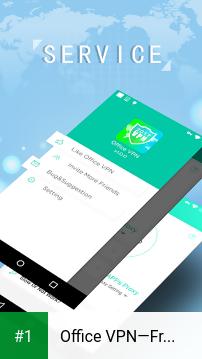 Office VPN—Free Unlimited VPN app screenshot 1