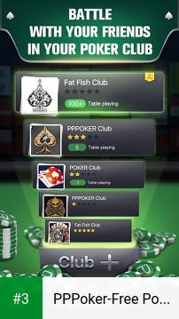 PPPoker-Free Poker&Home Games app screenshot 3