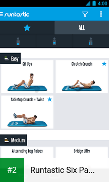 Runtastic Six Pack Abs Workout & Trainer apk screenshot 2