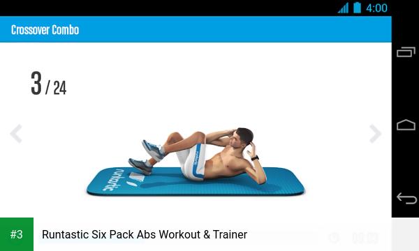 Runtastic Six Pack Abs Workout & Trainer app screenshot 3