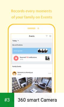 360 smart Camera app screenshot 3