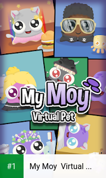 My Moy  Virtual Pet Game app screenshot 1
