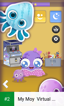 My Moy  Virtual Pet Game apk screenshot 2