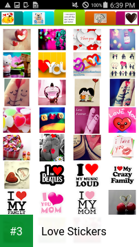 Love Stickers app screenshot 3
