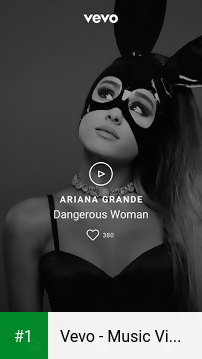 Vevo - Music Video Player app screenshot 1
